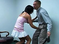 Jessica Valentino brutally attacks her principals groin